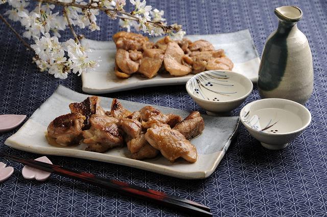 鶏モモ肉のショウガ焼き